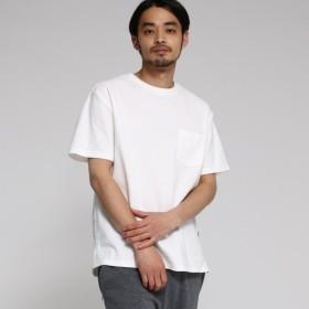 [マルイ]【セール】【WEB限定】 カノコ編立衿 BIG-Tシャツ/ベース ステーション(メンズ)(BASE STATION Mens)