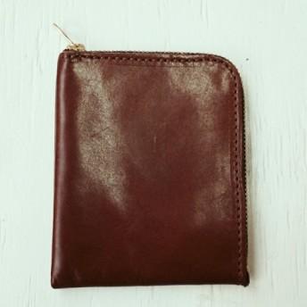 《受注生産》 L字ファスナーのスリムなお財布(小) Sabadell(サバディ) 姫路レザー