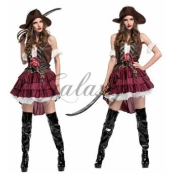 ハロウィン  海賊 女海賊 パイレーツ カリビアン カリブ ジプシー セクシー水兵 パーティー コスプレ衣装 ps3141