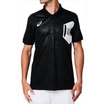 [asics]アシックス LIMOグラフィックポロシャツ (2031A687)(001) パフォーマンスブラック[取寄商品]