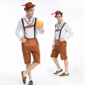ハロウィン  ビール 民族衣装 男性用 メンズ コスプレ 衣装ps2455