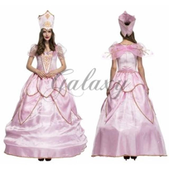 ハロウィン  妖精 女王樣 仙女 フェアリー お姫様 プリンセス ピンク ドレス パーティー イベント コスプレ衣装 ps3156