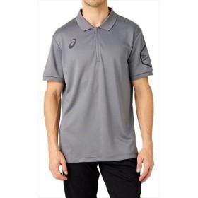 [asics]アシックス LIMOポロシャツ (2031A688)(021) スティールグレー[取寄商品]