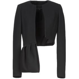 《セール開催中》GIAMBATTISTA VALLI レディース テーラードジャケット ブラック 40 バージンウール 99% / ポリウレタン 1%