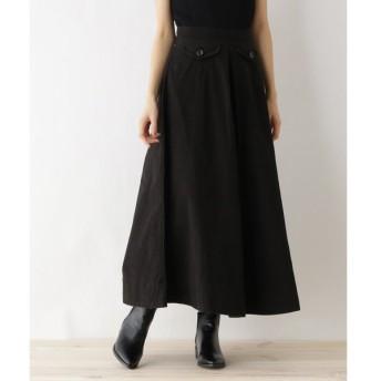 OZOC / オゾック 【洗える】カツラギボタンポケットスカート