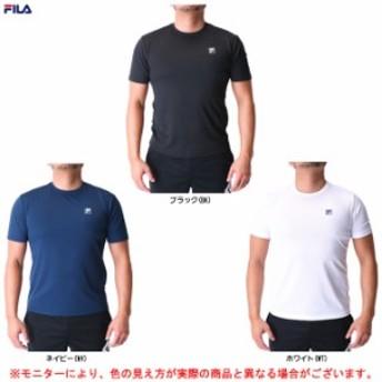 FILA(フィラ)メッシュTシャツ(418336)スポーツ トレーニング フィットネス 水陸両用 メンズ
