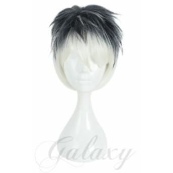 IDOLiSH7 アイドリッシュセブン アイナナ Re:vale 百 MOMO ショート 白黒 コスプレ 耐熱ウィッグ wig-675b