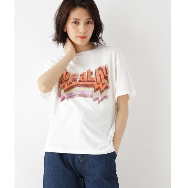 OZOC / オゾック ◆【洗える】ロゴTシャツ