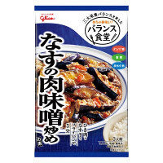 江崎グリコ バランス食堂 なすの肉味噌炒めの素 78G 1個