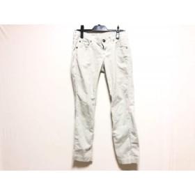 【中古】 ダブルスタンダードクロージング パンツ サイズ36 S レディース ライトグレー パイル