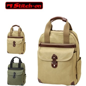 Stitch-on ステッチオン 帆布シリーズ リュックサック 2WAY A4 52201
