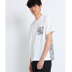 TAKEO KIKUCHI / タケオキクチ 切り替えポケットTシャツ Fabric by Liberty(R)