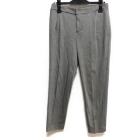 【中古】 アマカ AMACA パンツ サイズ40 M レディース グレー