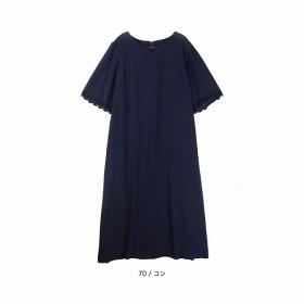 [マルイ]【セール】【大きいサイズ】【L-5L】ジョーゼットワンピース/エムビー(大きいサイズ)(MB)