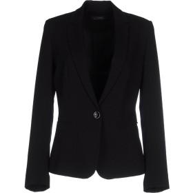 《期間限定セール開催中!》SOALLURE レディース テーラードジャケット ブラック 42 ポリエステル 96% / ポリウレタン 4%