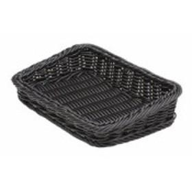 萬洋 樹脂製太渕ディスプレイかご 傾斜型 小 黒 91-028B WKG3702【送料無料】