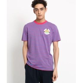 Dessin / デッサン SCOTCH&SODA トロピカルボーダーTシャツ