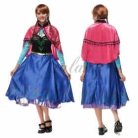 ハロウィン 女王 Queen クイーン お姫様 ドレス マント付き 長袖 コスプレ 衣装 ps2741