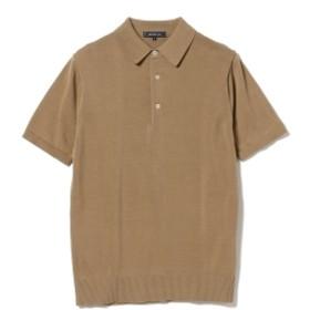 B:MING by BEAMS / ハイゲージ 強撚ポロシャツ メンズ ポロシャツ CAMEL L