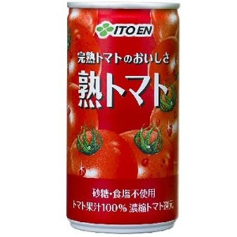 伊藤園 缶 熟トマト 190g×30本 1ケース 野菜ジュース(代引き不可) 【送料無料】