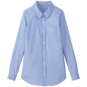 90%OFF【レディース大きいサイズ】 レギュラーカラーシャツ - セシール ■カラー:ストライプ ■サイズ:3L