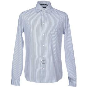 《期間限定セール開催中!》ARMANI JEANS メンズ シャツ ホワイト S コットン 100%