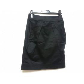 【中古】 ブルーガールブルマリン BLUGiRL BLUMARINE スカート レディース 黒