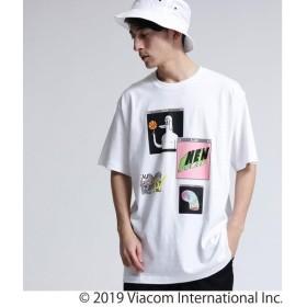 tk.TAKEO KIKUCHI / ティーケー タケオキクチ MTV × tk.TAKEO KIKUCHI  コラージュTシャツ