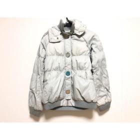 【中古】 スライ SLY ダウンジャケット サイズ2 M レディース ライトグレー 冬物/SLY Jacket