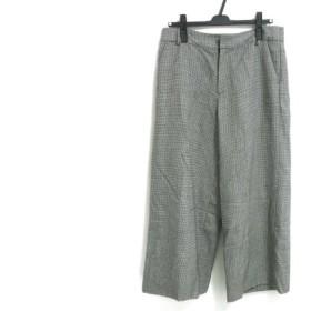 【中古】 ジユウク 自由区/jiyuku パンツ サイズ42 L レディース 白 黒