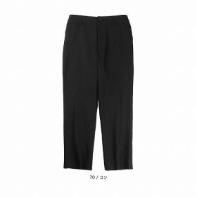 [マルイ]【セール】【大きいサイズ】【L-5L】リヨセル混9分丈パンツ/フルールbyミントブリーズ(Fleur)