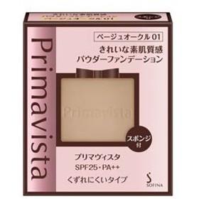 【花王】 プリマヴィスタ きれいな素肌質感パウダーファンデーション レフィル ベージュオークル01