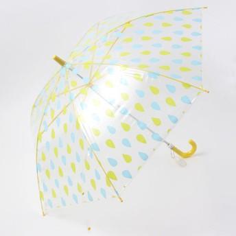 【fururi】ふるり プリント長傘 キッズサイズ レインドロップ