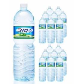 済州三多水(サムダス)ミネラルウォーター 2Lx12本 三多水(サンダス)ミネラルウォーター