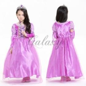 2ba6bc49473d1 ハロウィン キッズ 子供服 プリンセス お姫様 ワンピース ダンス コスプレ衣装 ps2663