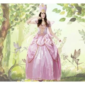 ハロウィン  新品 女王様 お姫様 精霊 妖精 コスプレ衣装 ps2373