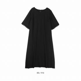 [マルイ] 【大きいサイズ】【L-5L】ジョーゼットワンピース/エムビー(大きいサイズ)(MB)