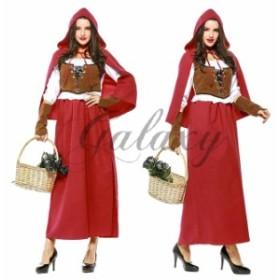 ハロウィン 赤ずきん 魔女 小悪魔 魔法使い ビールガール 大きいサイズ 仮装 コスプレ衣装 ps3338