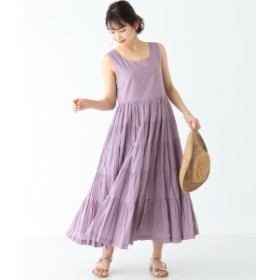 B:MING by BEAMS / ローン ティアードワンピース 19SS レディース ワンピース LAVENDER S
