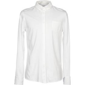 《期間限定セール開催中!》DONDUP メンズ シャツ ホワイト XL コットン 100%