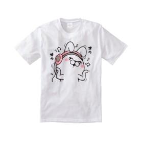 YOSISTAMP(ヨッシースタンプ) イヤホンプリント半袖Tシャツ Tシャツ・カットソー