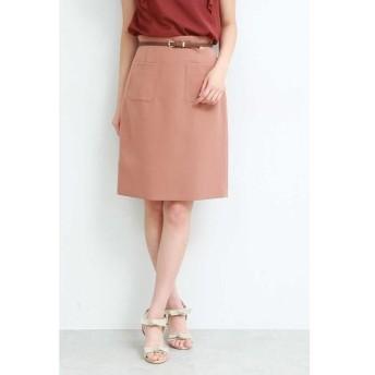 PROPORTION BODY DRESSING / プロポーションボディドレッシング  ポイントベルトポケットタイトスカート