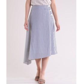 INED / 《Maison de Beige》ストライプラップスカート