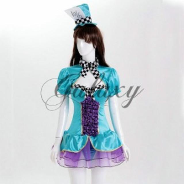 ハロウィン 不思議の国のアリス トランプガール 王女 帽子つき マジック メイド服 イベント パーティ コスプレ ps2978