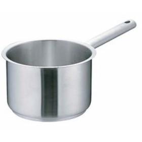 ムラノ インダクション18-8片手深型鍋 (蓋無)16cm AKTD101
