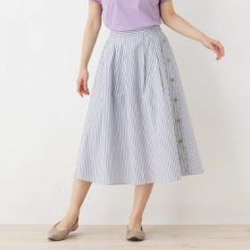 [マルイ]【セール】サイドボタンデザインスカート/シューラルー(レディス)(SHOOLARUE Ladies)