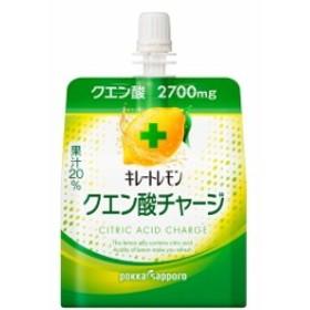 ポッカサッポロ キレートレモンクエン酸チャージゼリー 180g【6個セット】