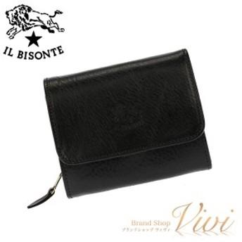 イルビゾンテ 二つ折り財布 メンズ IL BISONTE 二つ折り財布 C0883 153 ラッピング無料 UE9085 送料無料