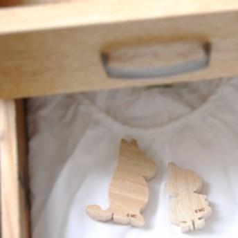 「ムーミン くすのき アロマブロック(2個入り)」 【防虫 クスノキ くすのきアロマ 天然 虫除け 虫除 ムーミン 衣類用 玄関 お部屋 消