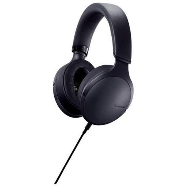パナソニック RP-HD300-K(ブラック) ステレオヘッドホン ハイレゾ対応